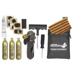 Image: Emergency tire repair kit.
