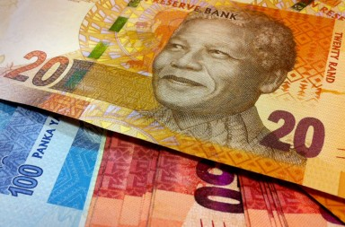 Image: South African currency